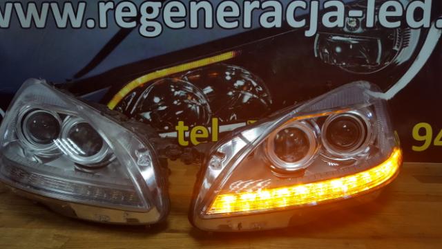 Reparatur von lampen led mercedes w216 cl lift led 2013r for Lampen reparatur